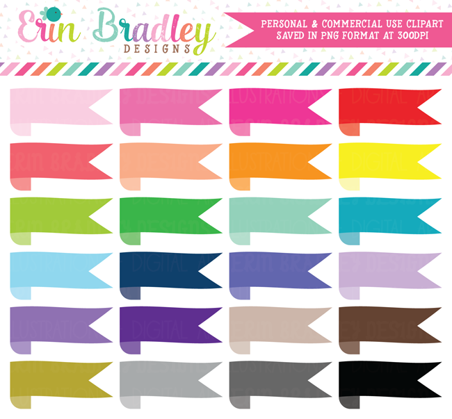 Wrap Around Ribbon Banner Clipart
