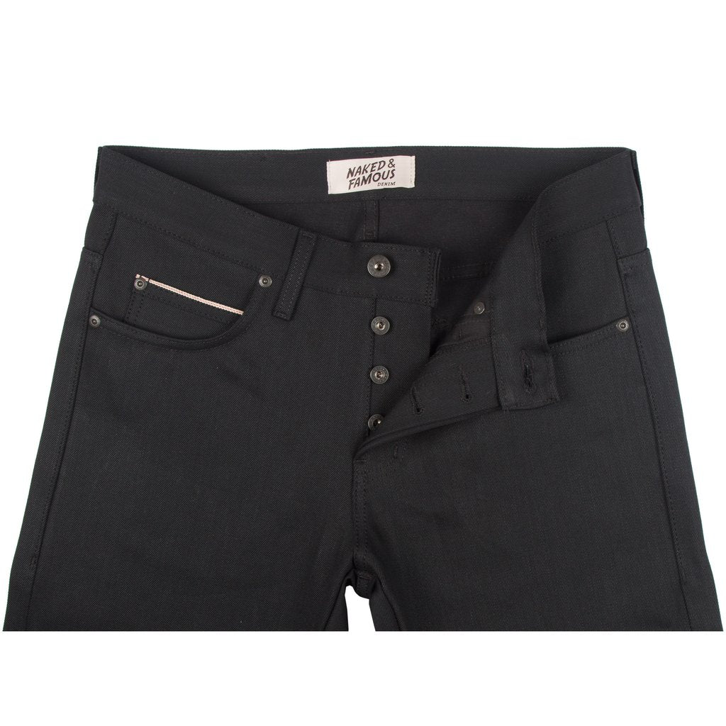 Solid Black Selvedge - Super Guy