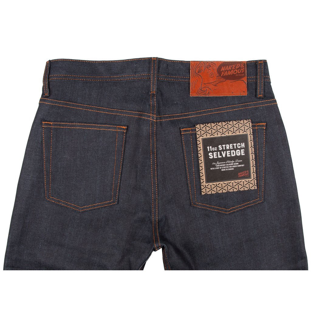 11oz Stretch Selvedge - Weird Guy