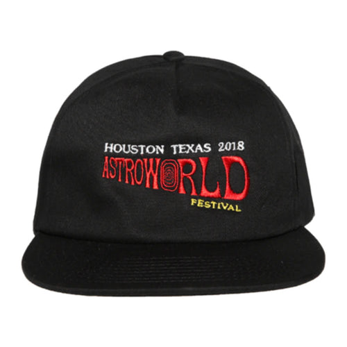 Astroworld Festival 2018 Hat - Black