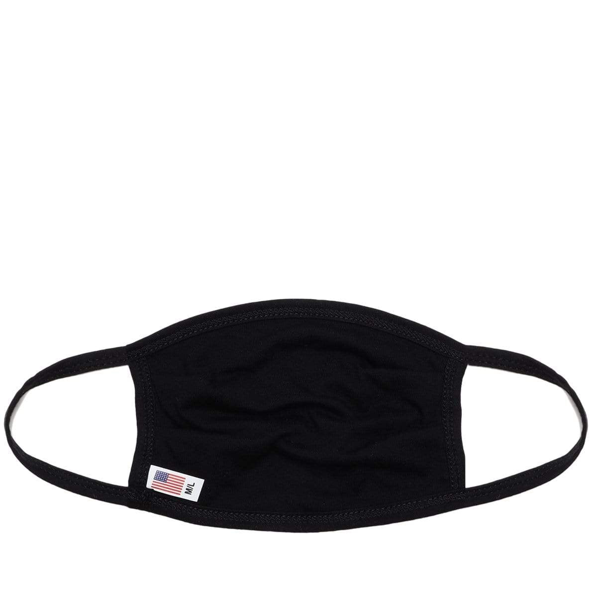 Core Logo Face Mask - Black