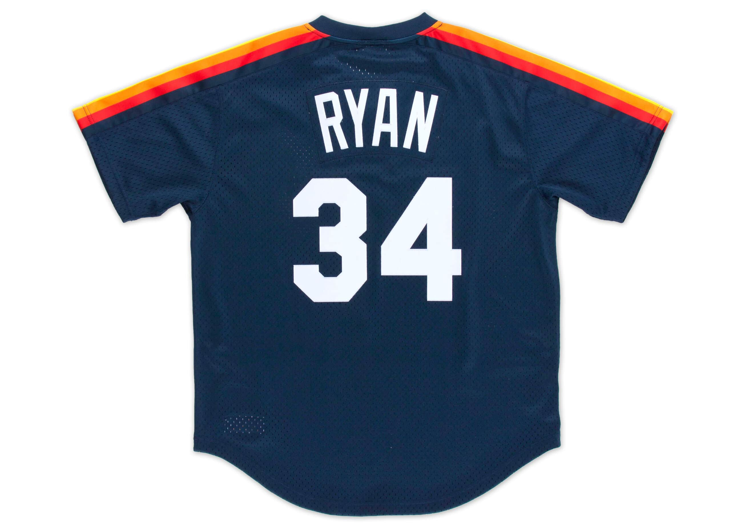 Nolan Ryan 1988 Authentic Mesh BP Jersey