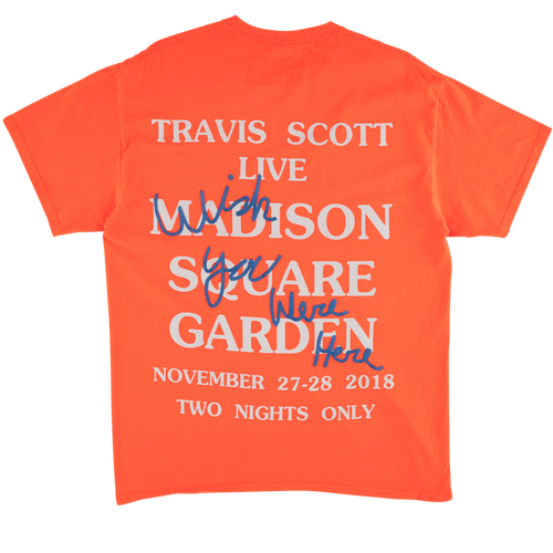 Astroworld MSG Tee - Orange