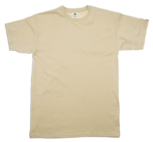 Tonal Embroidered - Sand