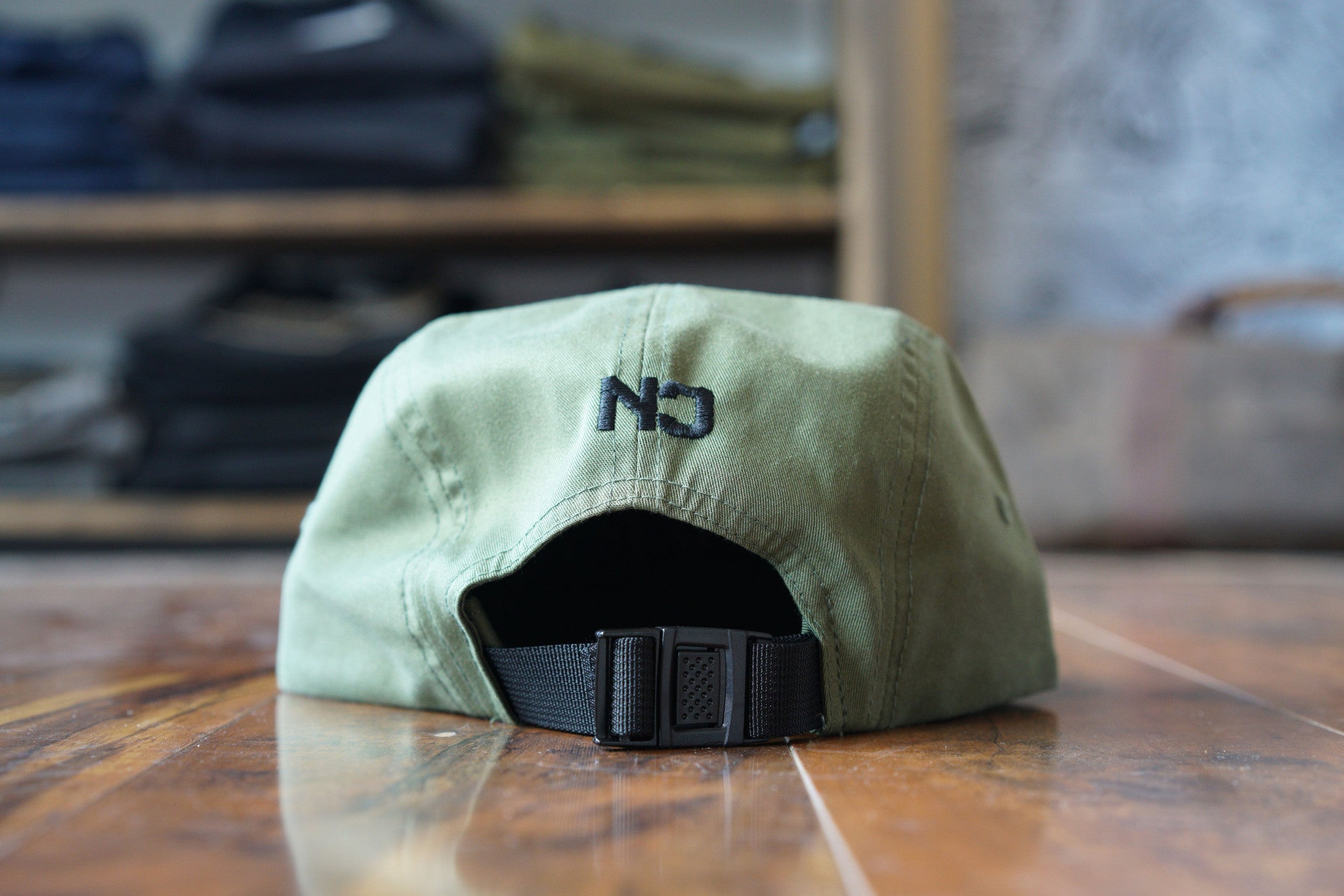 NEVER 5 Panel - Army Green
