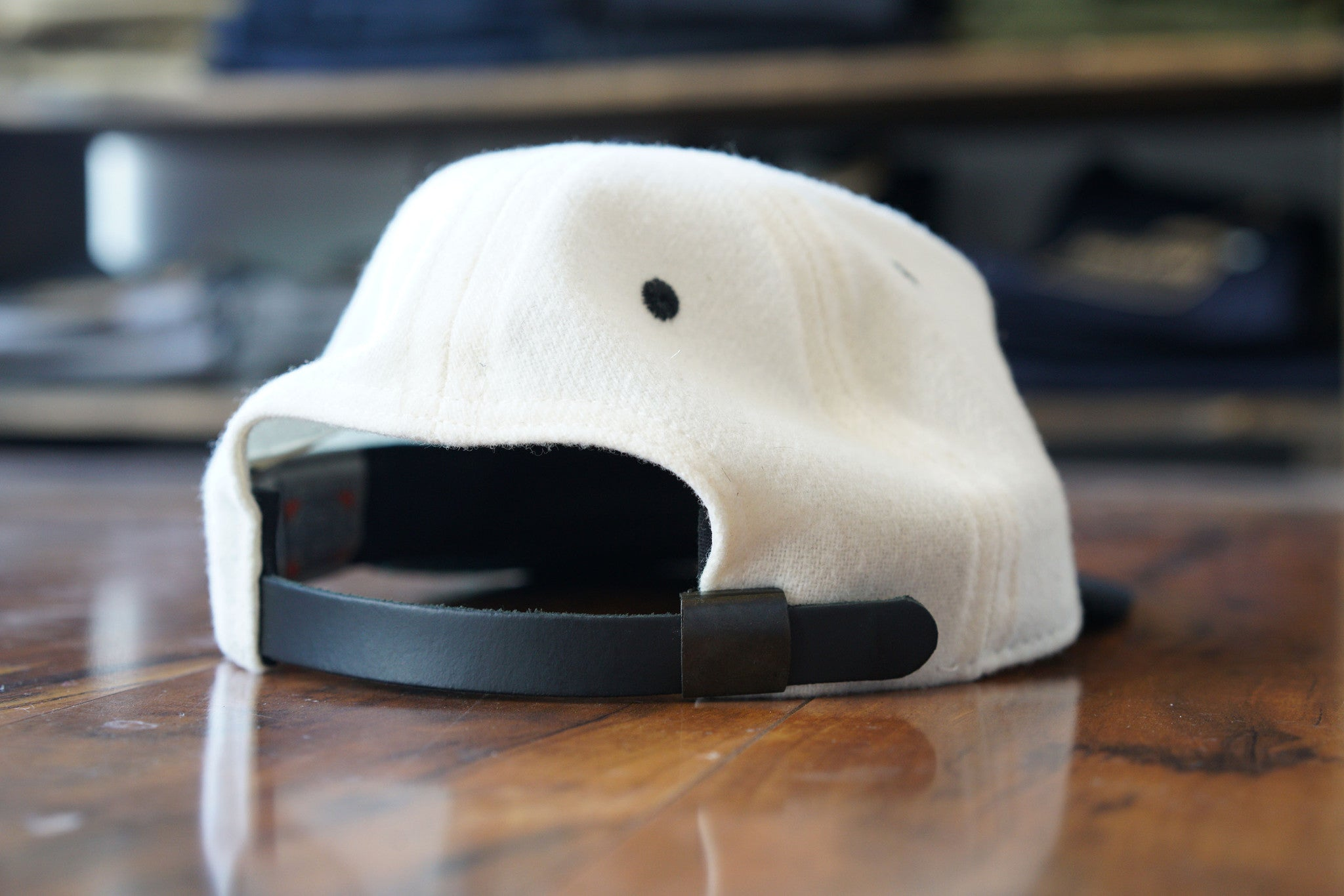 Club Never x Ebbets - Black on Cream