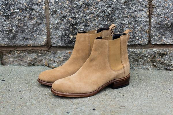 Classic Chelsea Boot - Derby Beige