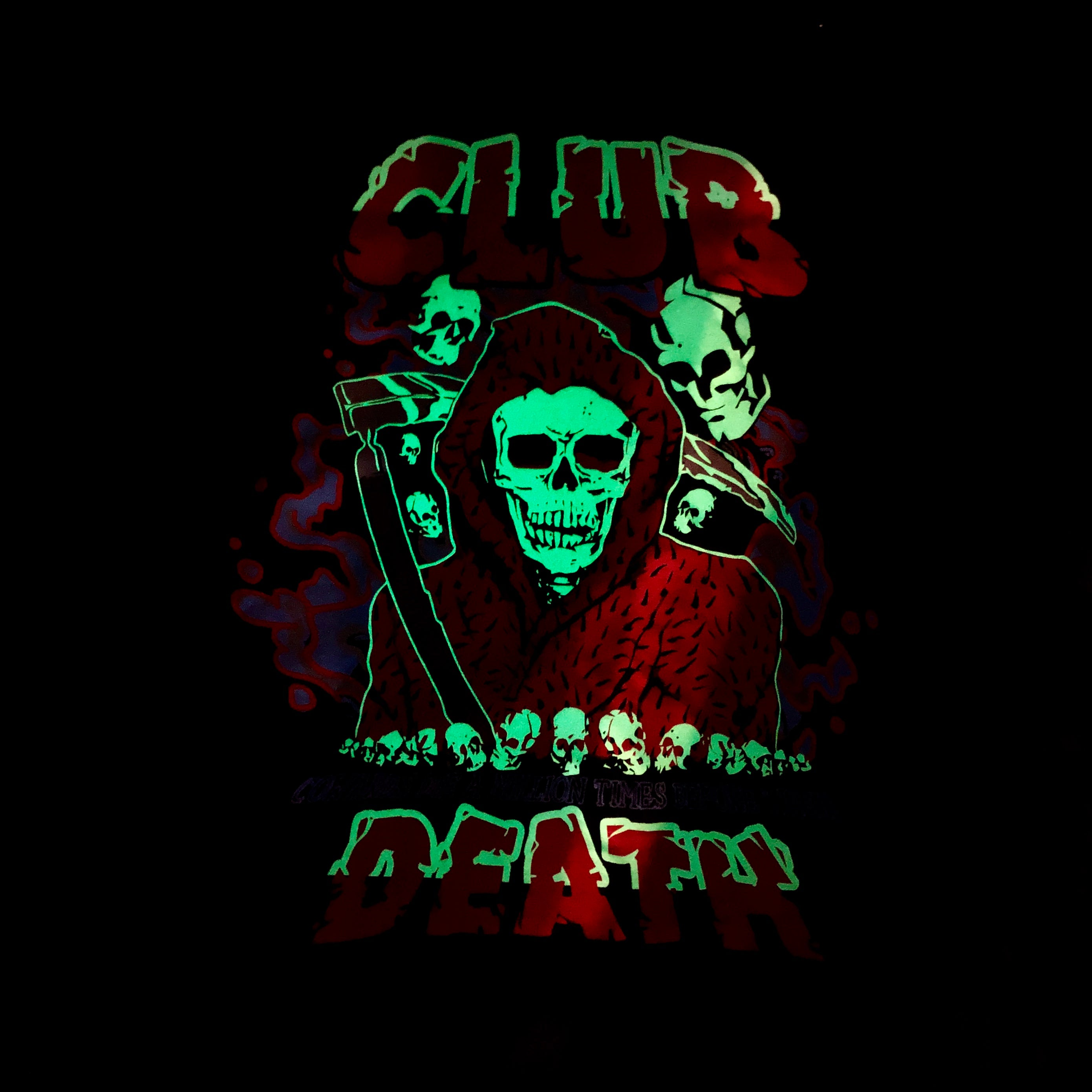 Club Death - Black/GITD