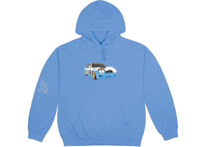 Vehicle Hoodie - Blue