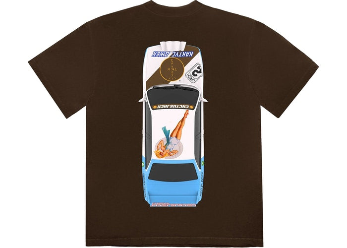 Vehicle Tee - Brown