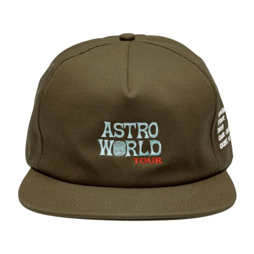 Astroworld Tour  Hat - Brown