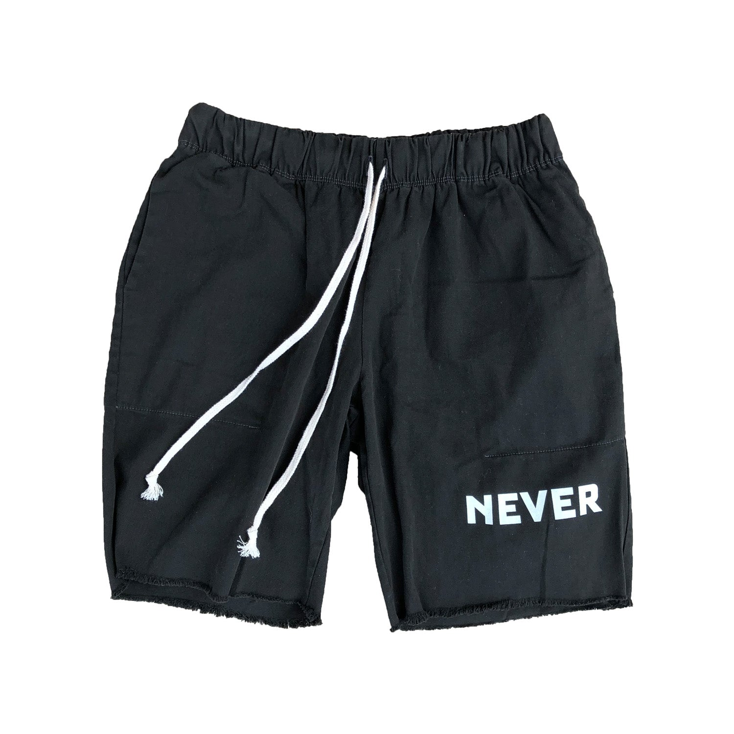 Garment Dyed Shorts - Black