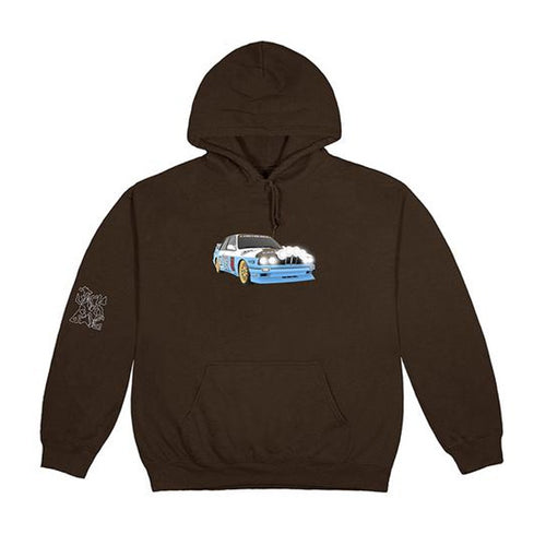 Vehicle Hoodie - Brown