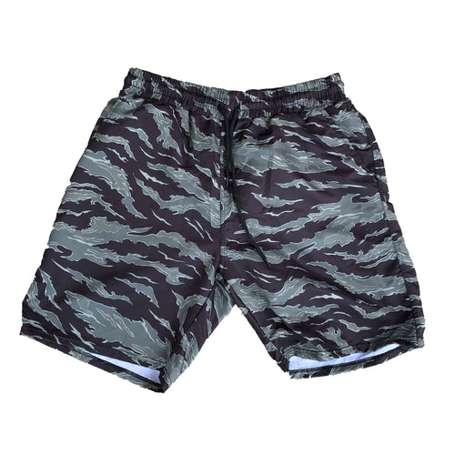 """Bayou"" Camo Water Trunks"