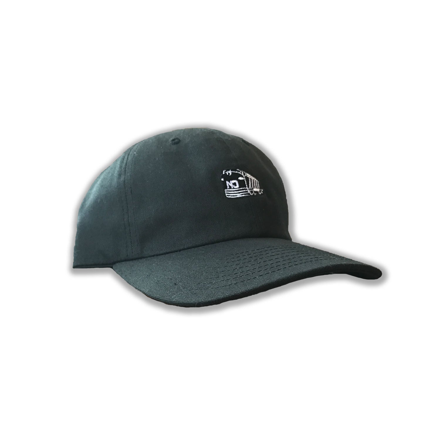 Mini Train Dad Hat - Black