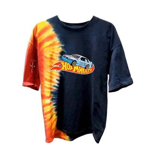 Racing Hot Wheels Tee - Tie Dye