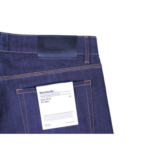 Standard Raw Denim - Raw Indigo