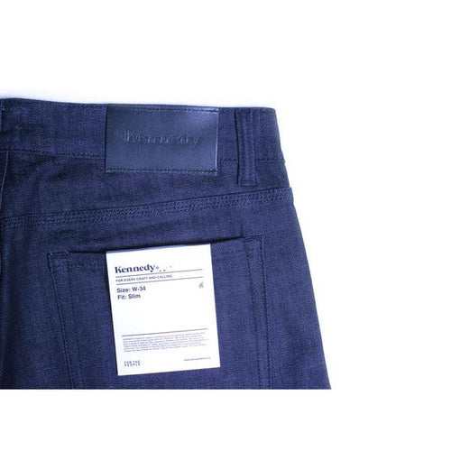 Standard Raw Denim - Midnight Indigo