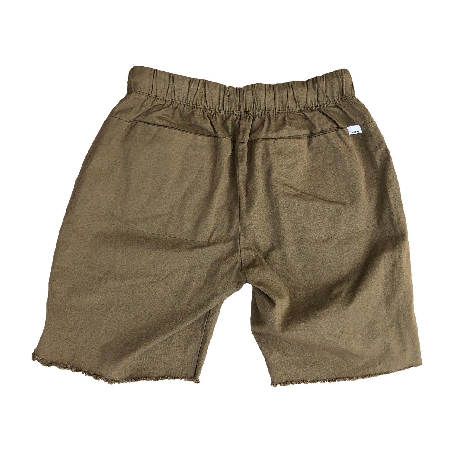 Garment Dyed Shorts - Stone