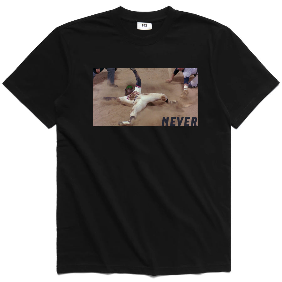 Never League Tee  - Black