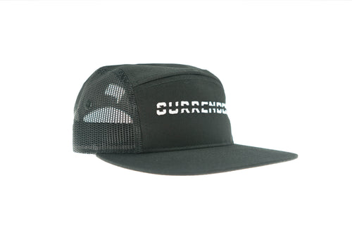 Never Surrender Mesh 5 Panel - Black