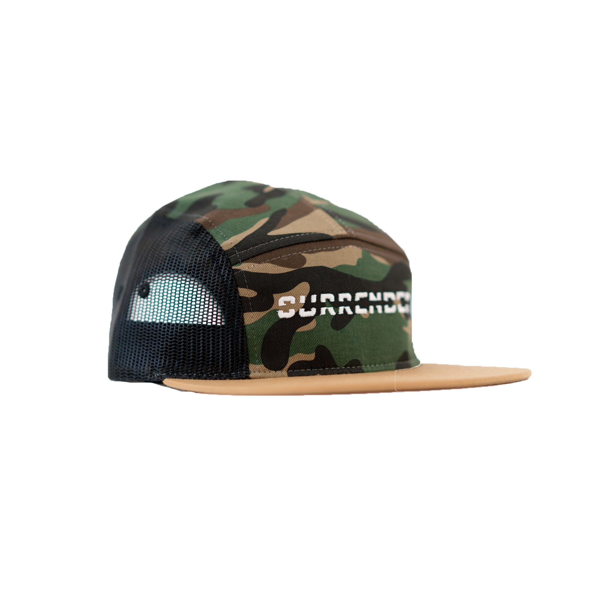 Never Surrender Mesh 5 Panel - Camo
