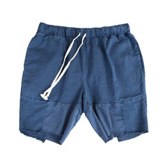 Garment Dyed Shorts - Blue