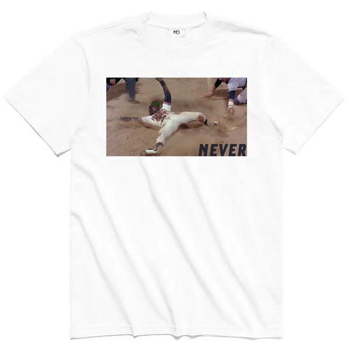 Never League Tee / Sock Combo - White