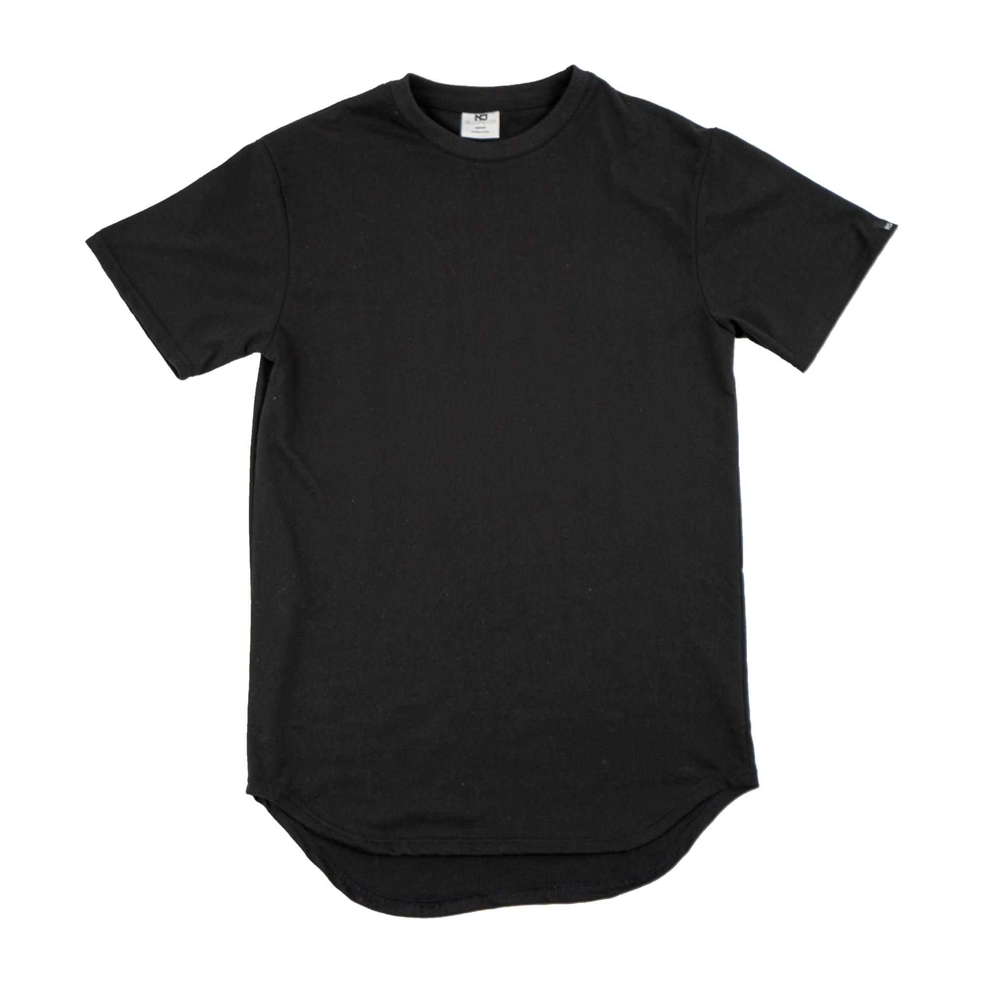 Premium Scoop Tee - Black