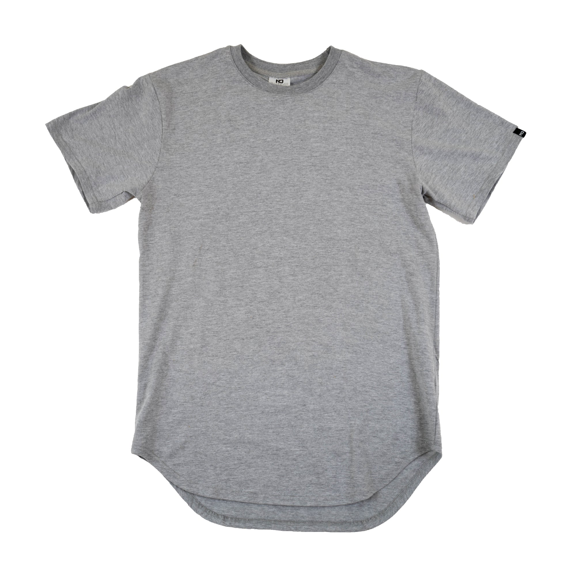 Premium Scoop Tee - Heather Gray
