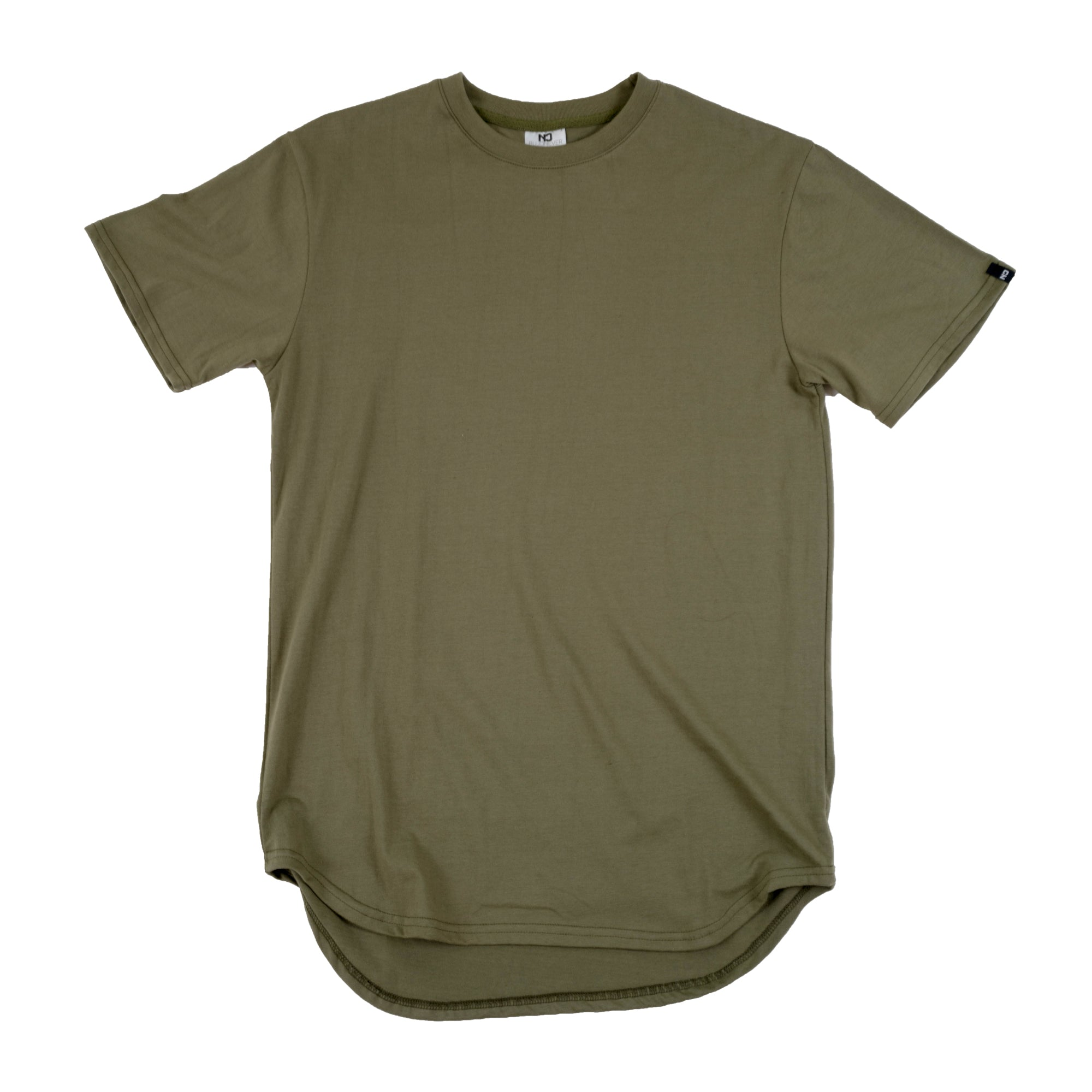 Premium Scoop Tee - Military Green