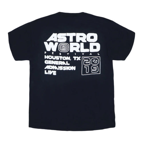 Astroworld Staff 2 Tee - White Print
