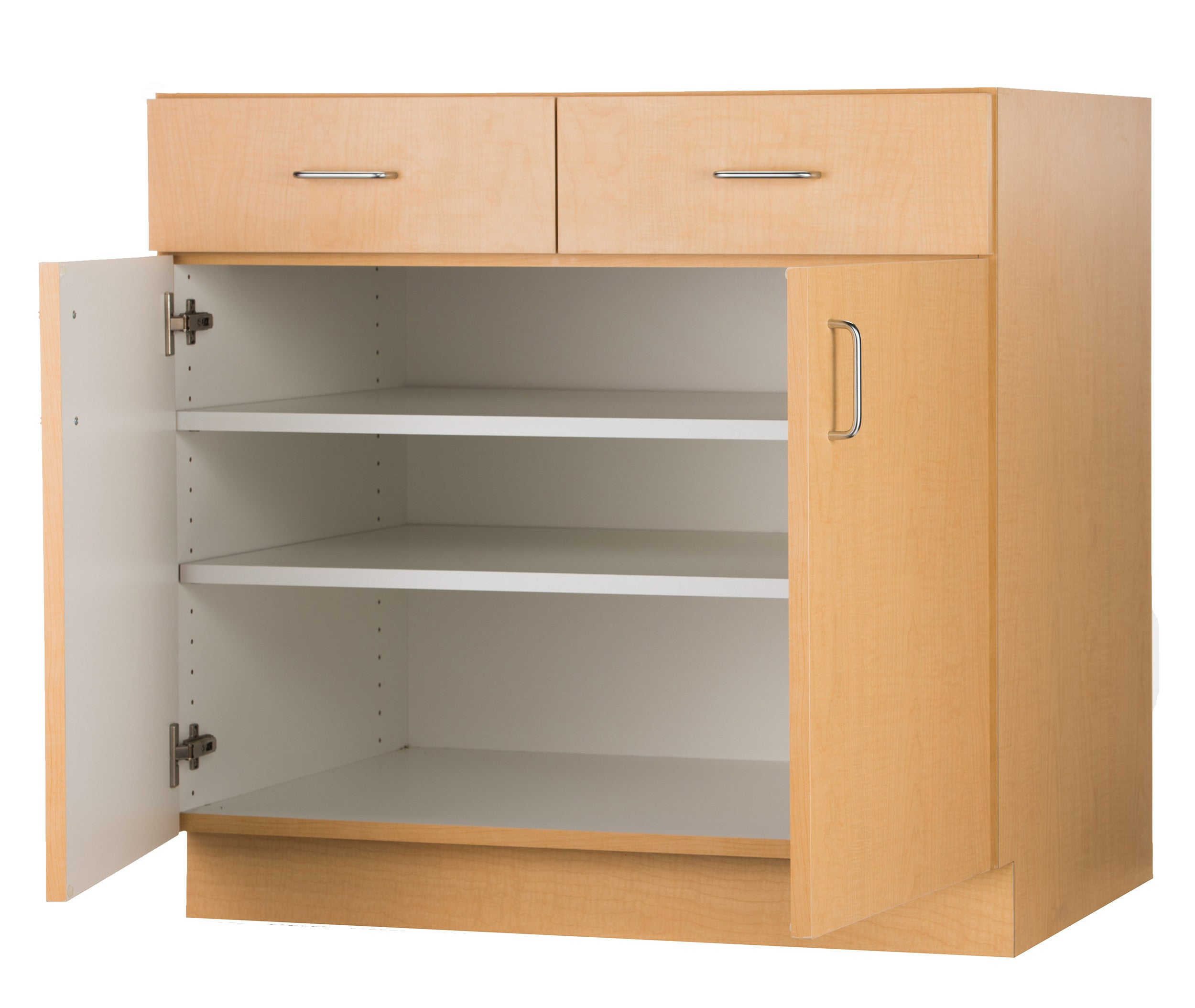base cabinet with double door + double drawer