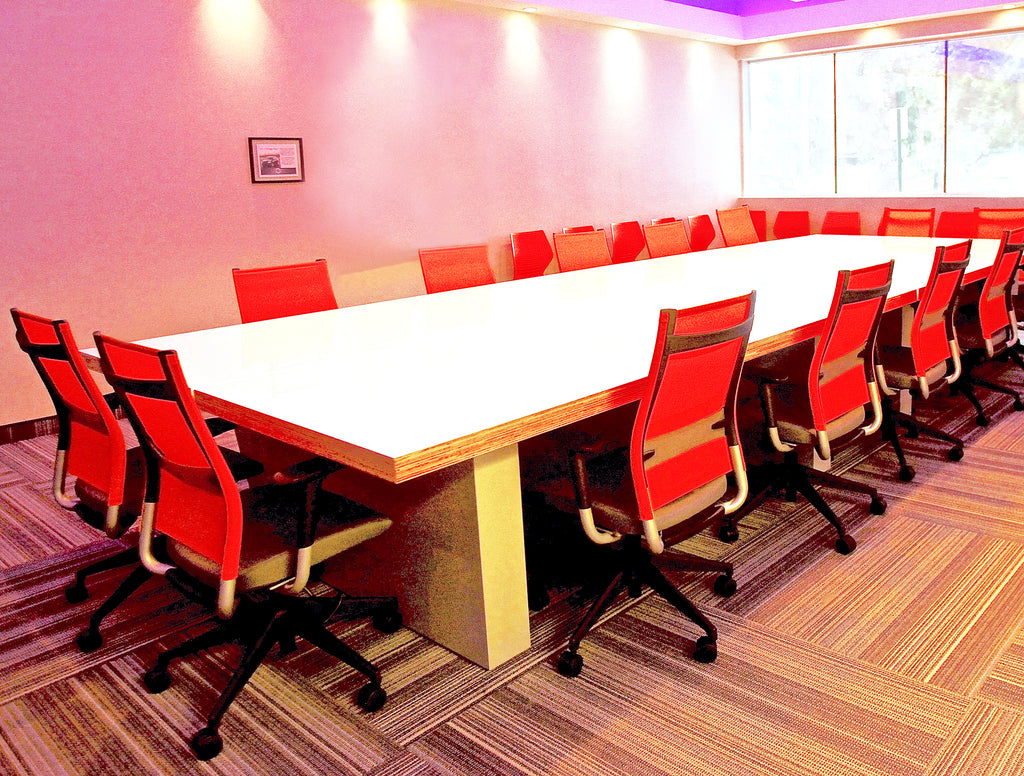 Conference Tables - Red conference table