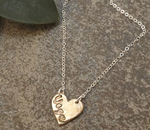Load image into Gallery viewer, Brynn -Yoga Heart Necklace