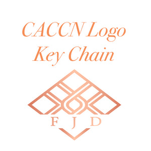 Hand Stamped Key Chain - CACCN