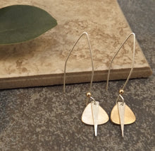 Load image into Gallery viewer, Caitlyn - Gold and Silver Earrings