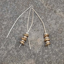 Load image into Gallery viewer, Abigail - Gold and Silver Earrings