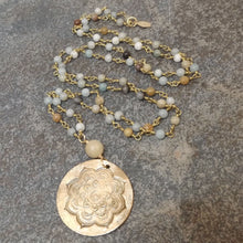Load image into Gallery viewer, Brynn - Mandala Long Necklace