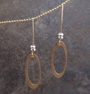 Abigail - Oval Earrings