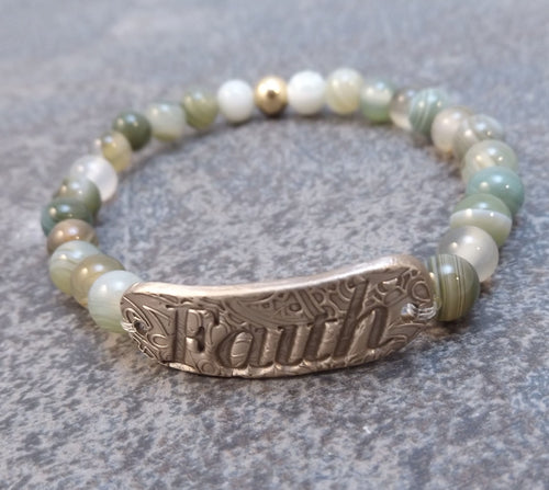 Inspiration Word Bracelet - Faith