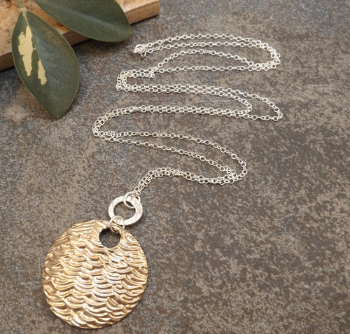 Jenni - Gold and Silver Long Necklace