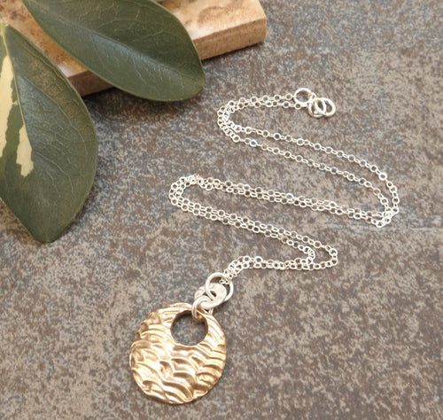 Jenni - Gold and Silver Necklace