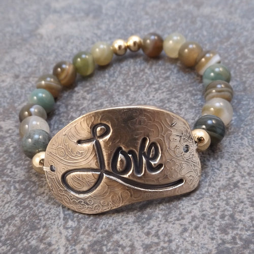 Love - Stretch Bracelet