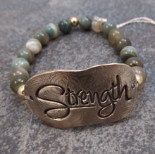 Load image into Gallery viewer, Strength-  Stretch Bracelet