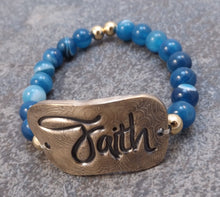 Load image into Gallery viewer, Faith -  Stretch Bracelet