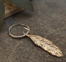 Load image into Gallery viewer, Feather Key Chain