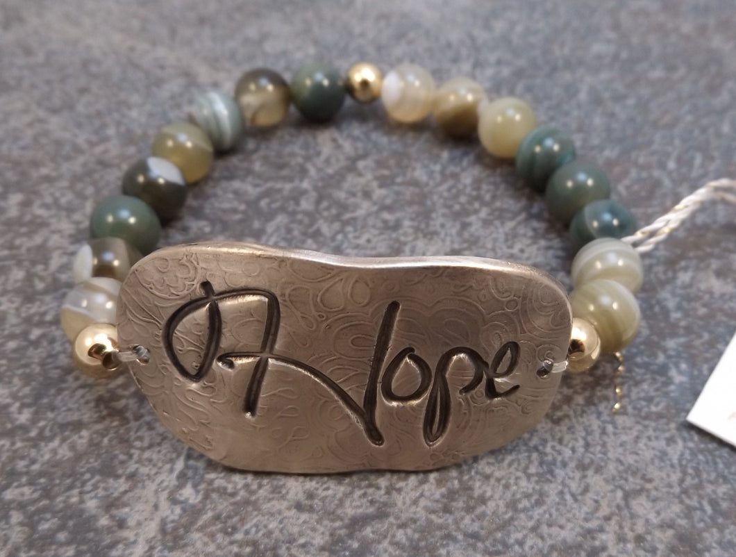 Hope -  Stretch Bracelet