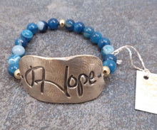 Load image into Gallery viewer, Hope -  Stretch Bracelet