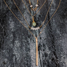 Load image into Gallery viewer, Gemma - Gold Three Strand Necklace